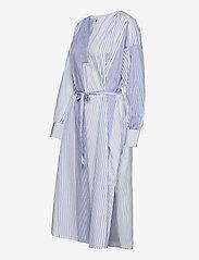 GANT - D1. MIX STRIPE KAFTAN DRESS - shirt dresses - blue bell - 2