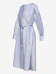 GANT - D1. MIX STRIPE KAFTAN DRESS - shirt dresses - blue bell - 3