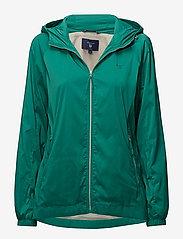 Gant - O1. WINDBREAKER - kevyet takit - emerald green - 0