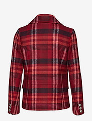 GANT - D1. CLASSIC PEACOAT - wool jackets - mahogny red - 1