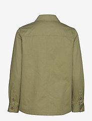 Gant - D2. SHIRT JACKET - vestes legères - oil green - 1