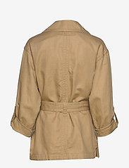 Gant - D2. BELTED FIELD JACKET - vestes legères - dark khaki - 1