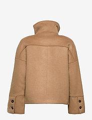 GANT - D1. WOOL BLEND CROPPED JACKET - wool jackets - warm khaki - 2