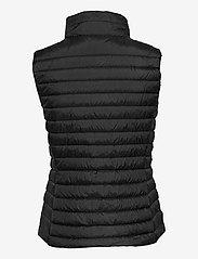 GANT - LIGHT DOWN GILET - puffer vests - black - 3