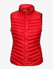 LIGHT DOWN GILET - BRIGHT RED