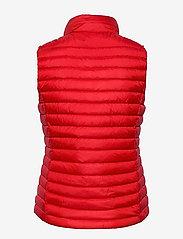 GANT - LIGHT DOWN GILET - puffer vests - bright red - 1