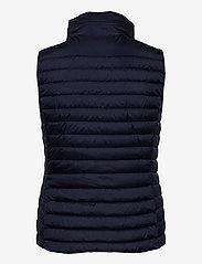 GANT - LIGHT DOWN GILET - puffer vests - evening blue - 3