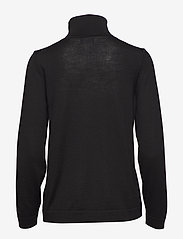 Gant - FINE MERINO TURTLE NECK - turtlenecks - black - 1