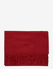 Gant - SOLID WOOL SCARF - huivit - mahogny red - 2