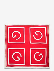 GANT - D1. LARGE G SILK SCARF - scarves - bright red - 2