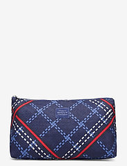 GANT - D1. SIGNATURE WEAVE WASH BAG - cosmetic bags - crisp blue - 0