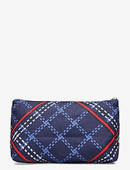 GANT - D1. SIGNATURE WEAVE WASH BAG - cosmetic bags - crisp blue - 1