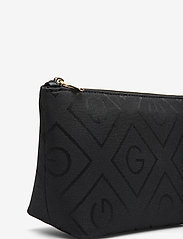 GANT - D1. ICON G MAKE UP BAG - cosmetic bags - black - 3