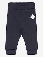 GANT - LOCK-UP ORGANIC COTTON PANTS - trousers - evening blue - 0