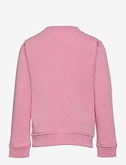 GANT - D2. GANT SCRIPT C-NECK - sweatshirts - sea pink - 1