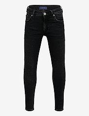 GANT - GANT SKINNY JEANS - jeans - black raw - 0
