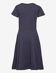 GANT - D1. ORIGINAL JERSEY DRESS - jurken - evening blue - 1