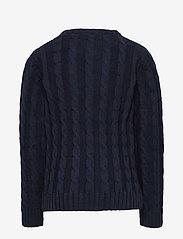 GANT - COTTON CABLE CREW - strickmode - evening blue - 1