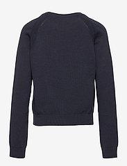 GANT - D1. BASIC C-NECK - sweatshirts - evening blue - 1