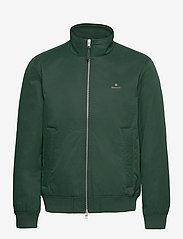 GANT - D1. HAMPSHIRE JACKET - bomber jackets - tartan green - 0