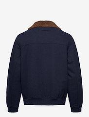GANT - D2. WOOL FLIGHT JACKET - wool jackets - marine - 2
