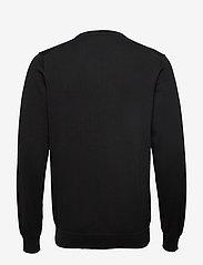 GANT - CLASSIC COTTON V-NECK - knitted v-necks - black - 1