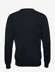 GANT - CLASSIC COTTON V-NECK - knitted v-necks - evening blue - 1