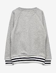 Gant - D1. PREPPY GANT C-NECK SWEAT - sweatshirts - light grey melange - 1