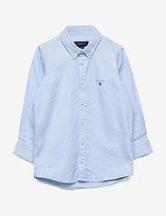 GANT - ARCHIVE OXFORD B.D. SHIRT - hemden - capri blue - 0