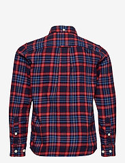 GANT - D1. MICRO TARTAN SHIRT - overhemden - atomic orange - 1