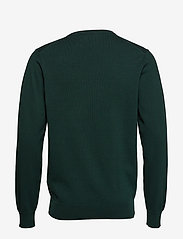 GANT - LIGHT WEIGHT COTTON V-NECK - tartan green - 1