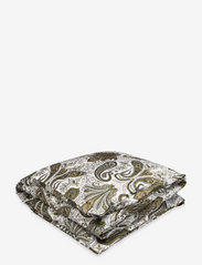 KEY WEST PAISLEY DOUBLE DUVET - OLIVE BRANCH GREEN