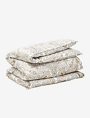 GANT - KEY WEST PAISLEY DOUBLE DUVET - duvet covers - putty - 0