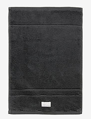 GANT - PREMIUM TOWEL 30X50 - hand towels & bath towels - antracite - 0