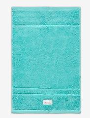 GANT - ORGANIC PREMIUM TOWEL 30X50 - towels - aqua - 0