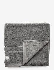 GANT - ORGANIC PREMIUM TOWEL 50X70 - hand towels & bath towels - elephant grey - 0