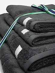 GANT - ORGANIC PREMIUM 4p 50x70 70x140 - towels - antracite - 1