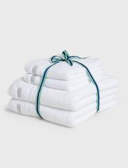 GANT - ORGANIC PREMIUM 4p 50x70 70x140 - ręczniki kąpielowe - white - 0