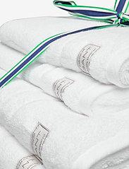 GANT - ORGANIC PREMIUM 4p 50x70 70x140 - towels - white - 1