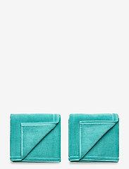 GANT - ORGANIC SHOWERMAT 50X80 - bath rugs - aqua - 0