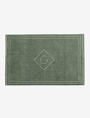 GANT - G SHOWER MAT 50X80 - hand towels & bath towels - agave green - 0