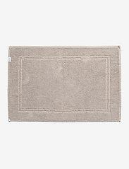 GANT - ORGANIC BATHRUG 60X90 - dywaniki łazienkowe - dry sand - 0
