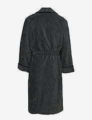 GANT - PREMIUM VELOUR ROBE - bathrobes - antracite - 1