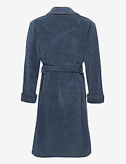 GANT - ORGANIC PREMIUM  ROBE - bathrobes - sateen blue - 1