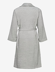 GANT - ORGANIC TERRY BATHROBE - vaatetus - light grey - 1