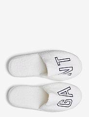 GANT - VACAY SLIPPERS - odzież - white - 3