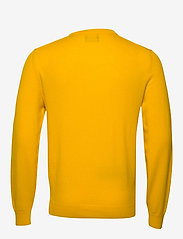 GANT - SUPERFINE LAMBSWOOL CREW - basic knitwear - ivy gold - 1