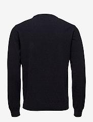 GANT - SUPERFINE LAMBSWOOL CREW - basic knitwear - marine - 1