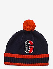 GANT - D1. VARSITY BEANIE - hats - evening blue - 0