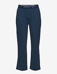 GANT - PAJAMA PANTS JERSEY - bottoms - insignia blue - 0